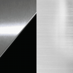 Srebrno črna / srebrna